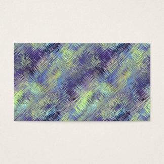 Tanzanite Blue Liquid Pattern Business Card