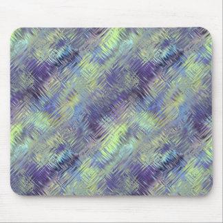 Tanzanite Blue Liquid Pattern Mouse Pad
