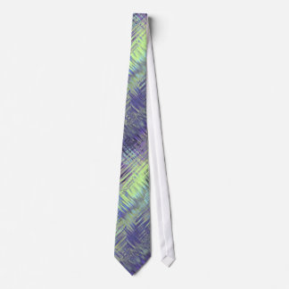 Tanzanite Blue Liquid Pattern Neck Tie