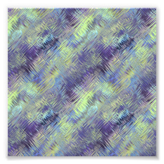 Tanzanite Blue Liquid Pattern Photo Art