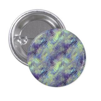 Tanzanite Blue Liquid Pattern Pinback Button