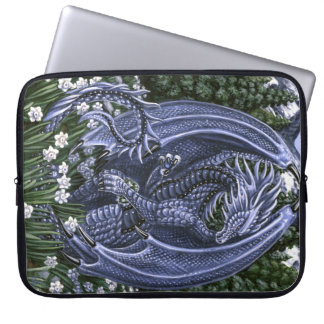 "Tanzanite Dragon 15"" Laptop Sleeve"