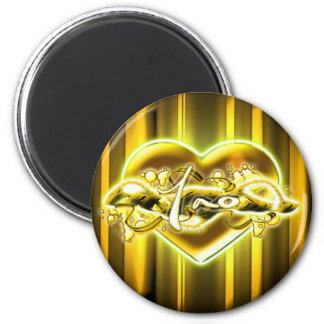 Tao 2 Inch Round Magnet