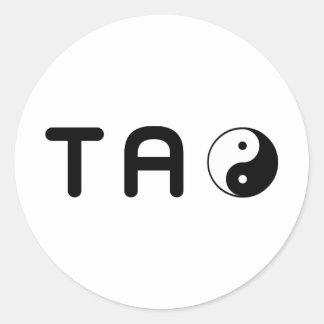 TAO CLASSIC ROUND STICKER