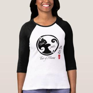 Tao de la camiseta del raglán de las mujeres del m