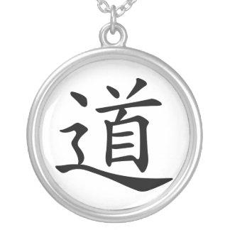 Tao o Dao es la palabra china para la ruta de la t Pendientes Personalizados