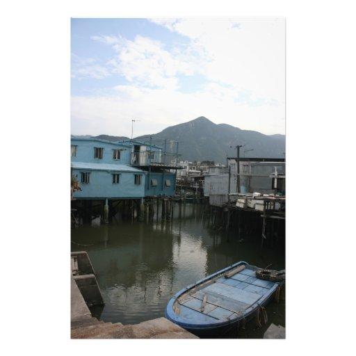 Tao O, isla de Lantau, Hong Kong Cojinete
