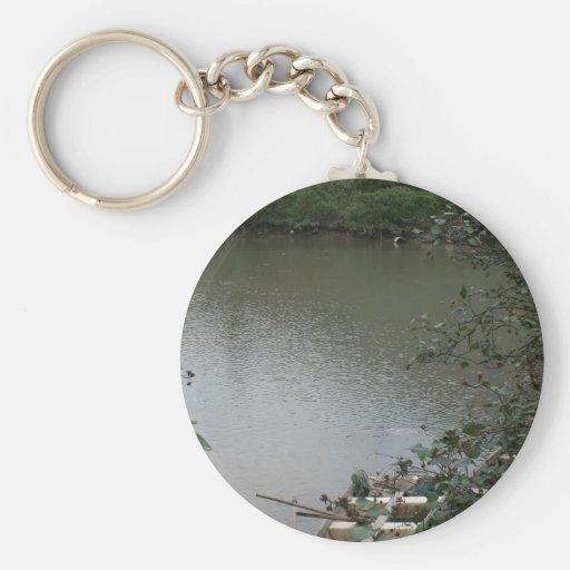 Tao O, Lantau Island, Hong Kong Basic Round Button Keychain