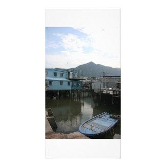 Tao O, Lantau Island, Hong Kong Photo Card