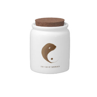 tao of chocolate candy jar
