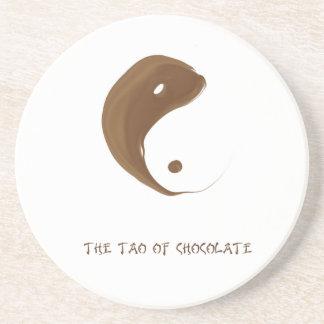 tao of chocolate sandstone coaster
