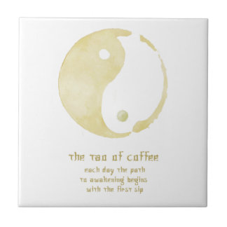 tao of coffee tile