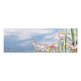 Tao of Water Bookmark Double-Sided Mini Business Cards (Pack Of 20)