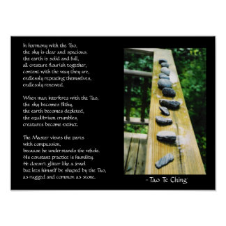 Tao Te Ching #39 Posters