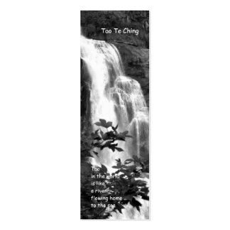 Tao Te Ching Bookmark / Double-Sided Mini Business Cards (Pack Of 20)