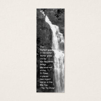 Tao Te Ching Bookmark/Photography Mini Business Card