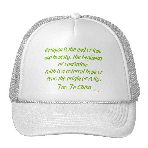 Tao Te Ching en la religión Gorra