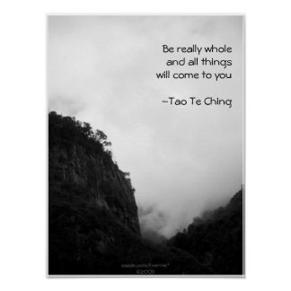 Tao Te Ching No.2/ Poster Posters