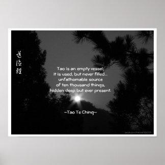 Tao Te Ching No.3/ Poster Poster