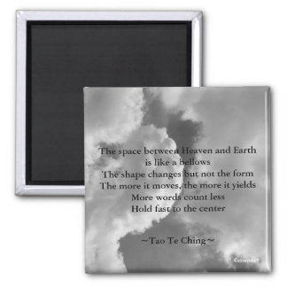 Tao Te Ching No.4/ 2 Inch Square Magnet