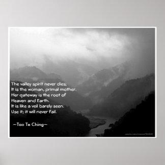 Tao Te Ching No.6/ Poster Print