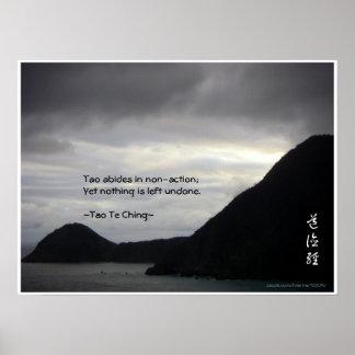Tao Te Ching No.7/ Poster