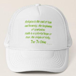 Tao Te Ching On Religion Trucker Hat