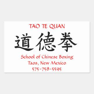 Tao Te Quan Stickers