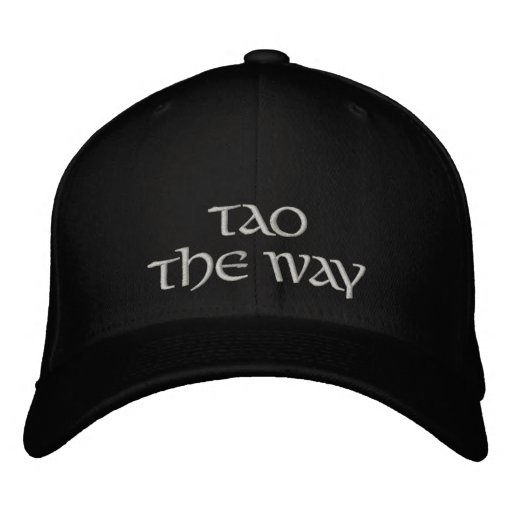 Tao-The Way Embroidered Baseball Hat