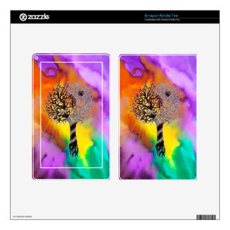 Tao Tree Decals For Kindle Fire