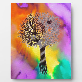 Tao Tree Plaque