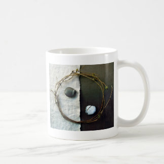 Tao Yin Yang Twine Classic White Coffee Mug