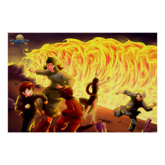 TAOFEWA - Gabija Flameweave Impresiones