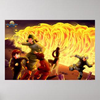 TAOFEWA - Gabija Flameweave Poster