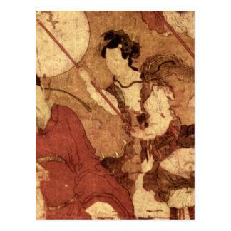 Taois Tischer Heiliger Mit Gefage_The Orient Postcard