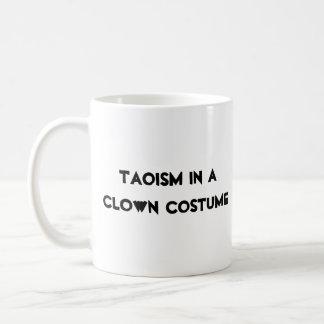 Taoism in a clown costume mug