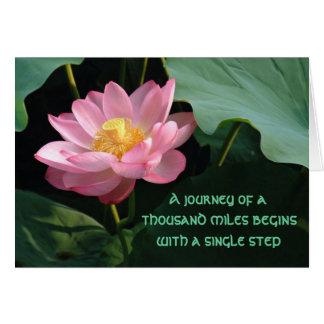 Taoism Quote Loa-Tzu Greeting Card