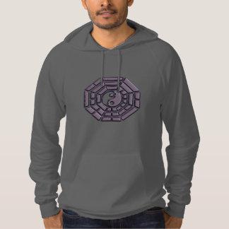 Taoist I Ching Hexagram Yin-Yang Symbol Hoodie