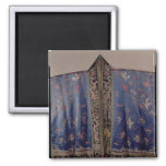 Taoist Robe From an Imperial Temple 2 Inch Square Magnet