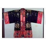 Taoist Robe With Tai Chi Yin and Yang Greeting Card
