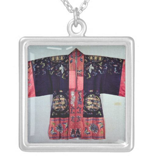 Taoist Robe With Tai Chi Yin and Yang Pendant