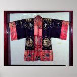 Taoist Robe With Tai Chi Yin and Yang Poster