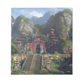 Taoist Temple Notepad