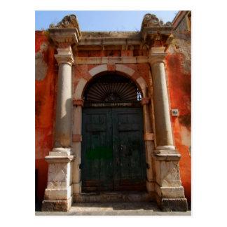 Taormina 5 postcard