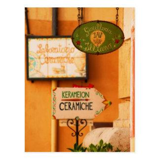 Taormina 7 postcard