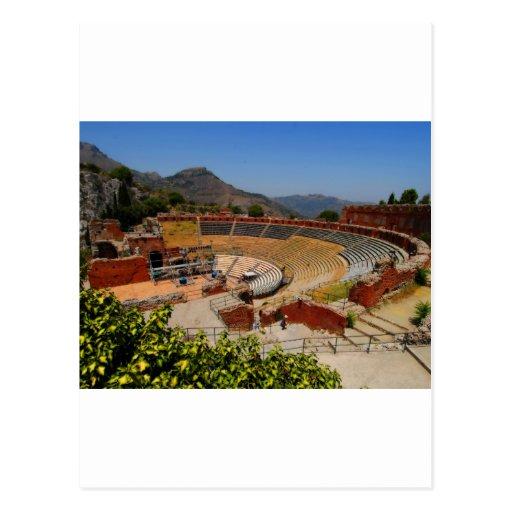 Taormina amphitheater 1 postcards