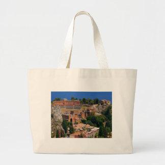 Taormina amphitheater 3 bags