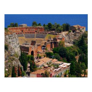 Taormina amphitheater 3 postcard