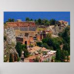 Taormina amphitheater 3 posters