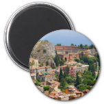 Taormina amphitheater 4 2 inch round magnet